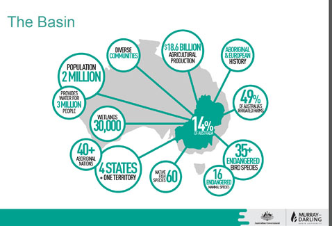 Importance of MDBasin